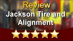 Jackson Tire and Alignment Memphis Amazing  5 Star Review by James C.