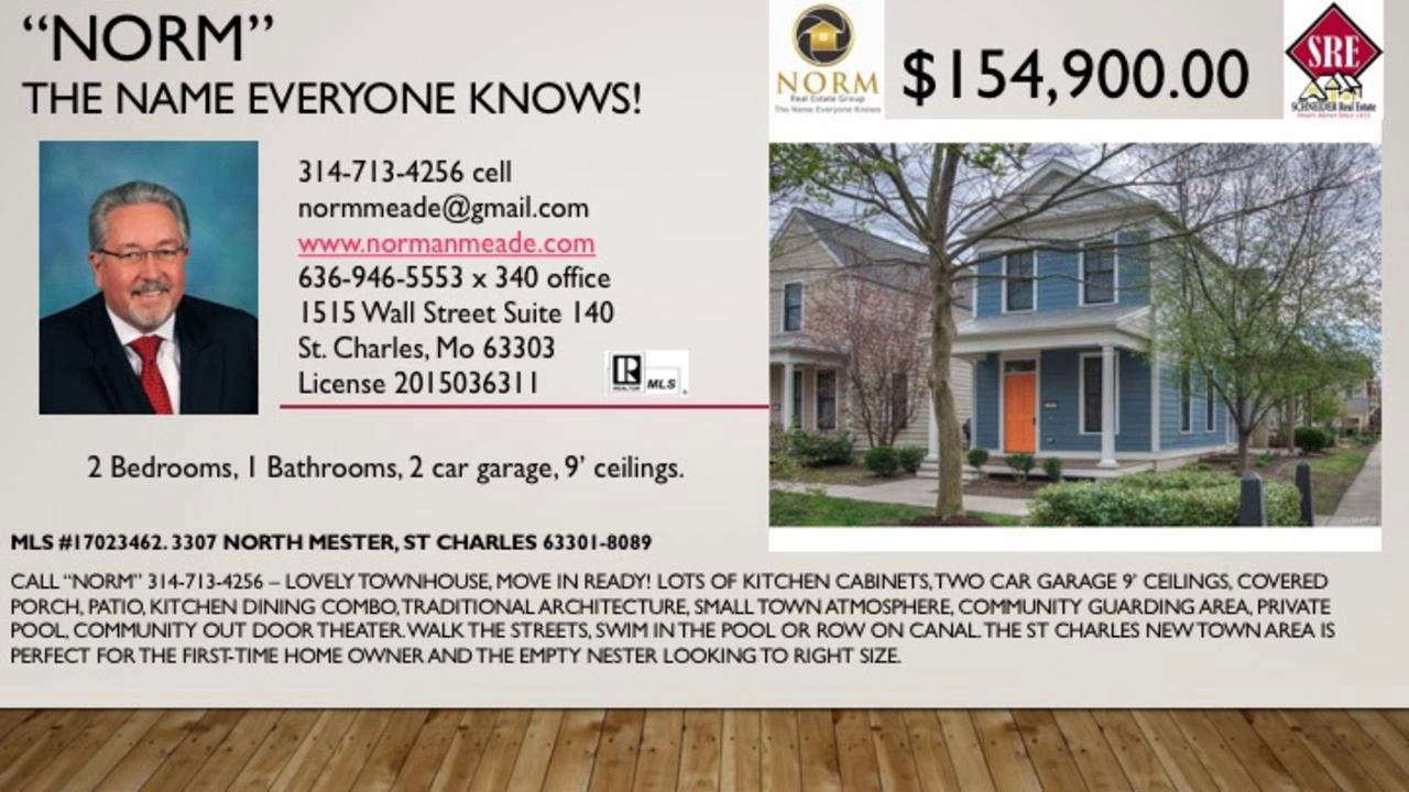 new town st charles 2 bed 1 bath home 63301 youtube