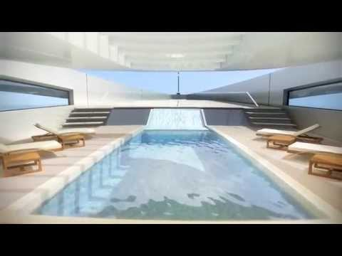 Project Stiletto 107m From Oceanco Yachts