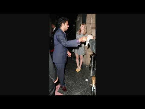 Dileep Rao leaving Katsuya Restaurant in Hollywood - 051209 - PapaBrazzi Report