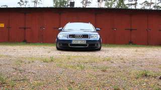 Audi A4 B6 stance