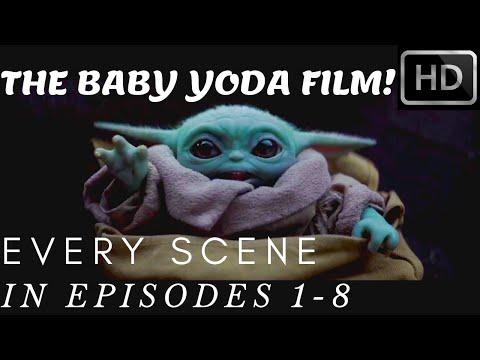 ALL Baby Yoda Scene! EPISODE 1-8! (YODA FILM) SEASON 1 [1080p Full HD]