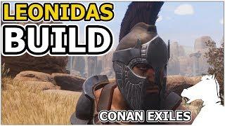LEONIDAS BUILD The Son of Sparta! | CONAN EXILES