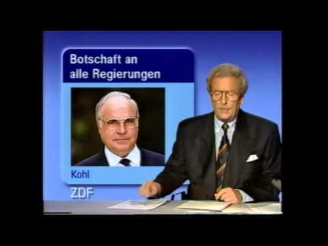 DDR Wiedervereinigung 03.10.1990 (Teil 2) Nachrichten vom 3. Oktober 1990