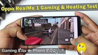 Oppo RealMe 1 Heavy Gaming & Heating Test || in Telugu