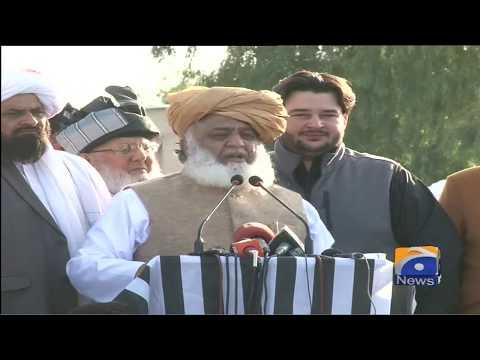 Maulana Fazal Ur Rehman Full Speech Today - 19th November 2019