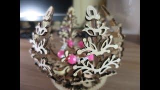 Оригинальный Подарок на Новый год! Деревянный конструктор Ugears Механический Цветок