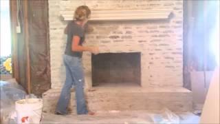 Brick Mortar Wash Technique