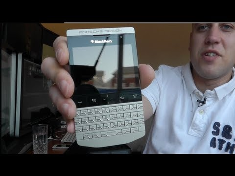 Porsche Design BlackBerry P9981 Unboxing