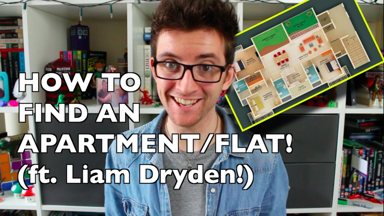 Renters Survival Guide: How to Find an Apartment/Flat (ft. Liam Dryden)!