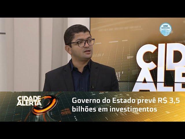 Governo do Estado prevê R$ 3,5 bilhões em investimentos em 2021 mesmo com pandemia