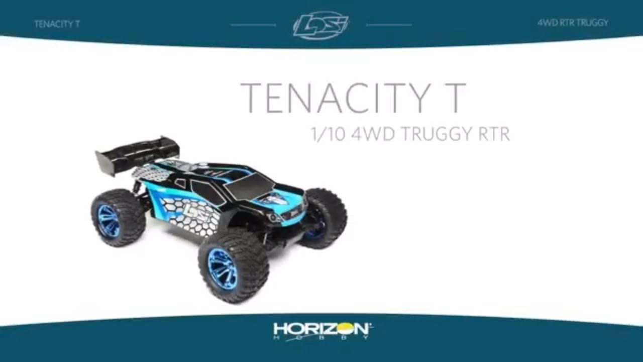 Losi 1/10 TENACITY 4WD Brushless Truggy RTR with AVC