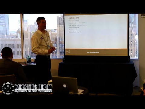 SEO Workshop by Websites Depot | Small Business Expo Los Angeles 2018