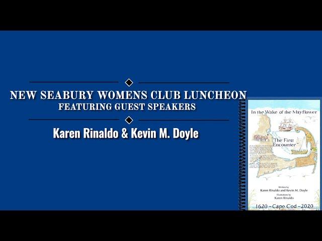 New Seabury Women's Club Presentation 09 09 20