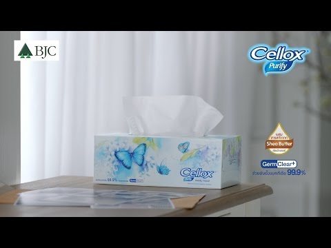 [TVC] Cellox Purify Facial Tissue