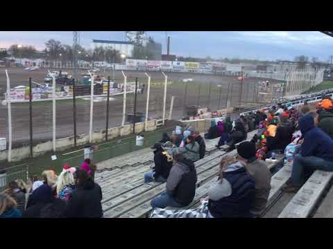 May 17th River Cities Speedway Late model Feature Brody Troftgruben
