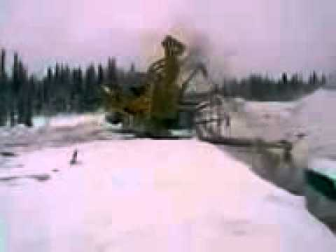 Laying Pipe in Russia is Very Dangerous