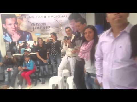 Yeison Jimenez reunión fans club BOGOTA