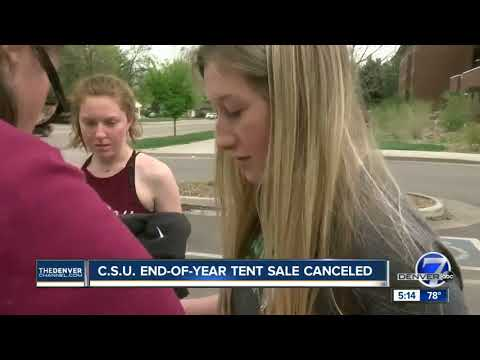 CSU forgoes big tent sale of 'left behind' dorm resident belongings, will give items to charity