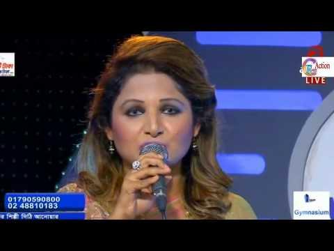 শুধু প্রশ্ন করো না আমায় আমি মরে যাব লজ্জাই।।Sudhu Prosno Koro Na Amai।। Singer Dithi LIVE SHOW