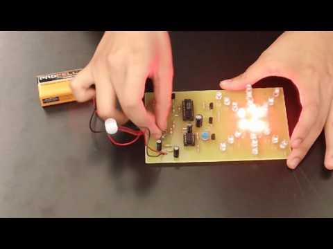 Ashley's Starter Project - Light Organ