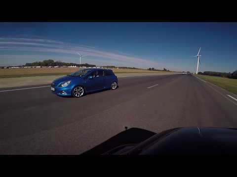 [RUN] Clio 4 RS1 1.6 200 vs Corsa D OPC...