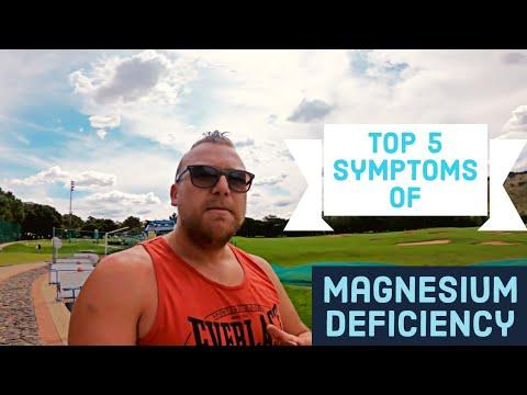 5 Symptoms Of Magnesium Deficiency