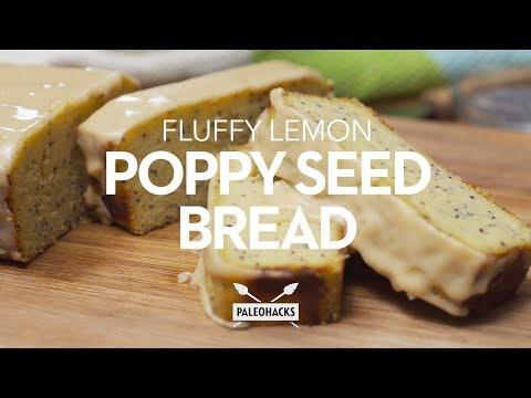 Fluffy Lemon Poppy Seed Bread