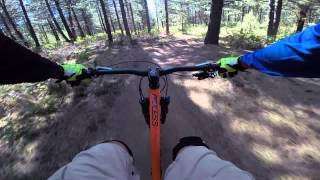 Bend Oregon - Funner trail - mountain biking 2015