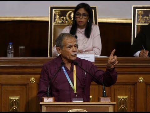 Asamblea Nacional Constituyente sesiona en homenaje a Oscar López Rivera, 6 marzo 2018