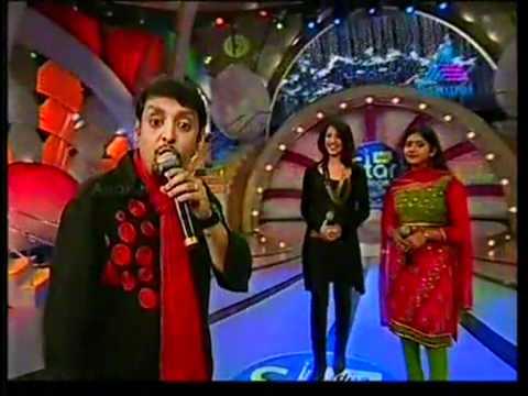 anoop shankar singing kuruttam kettavan song in idea star singer season 5