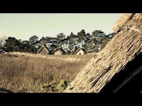 West Stow Anglo Saxon Village Museum Video SD