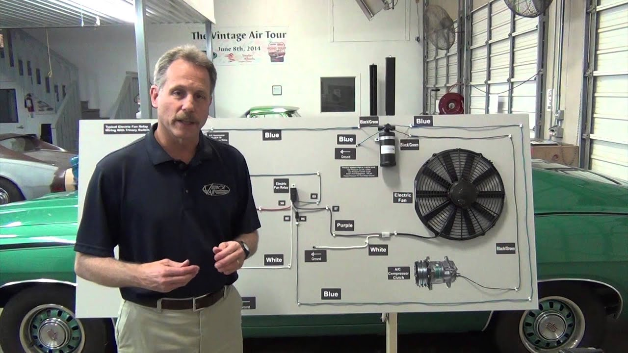 Vintage Air » Blog Archive Tech Video: Installing a Trinary ... on