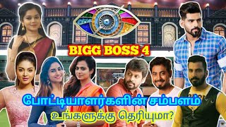 Bigg Boss Season 4 Tamil Contestants Salary   Bigg Boss 4 Tamil Salary   Bigg Boss Tamil Salary