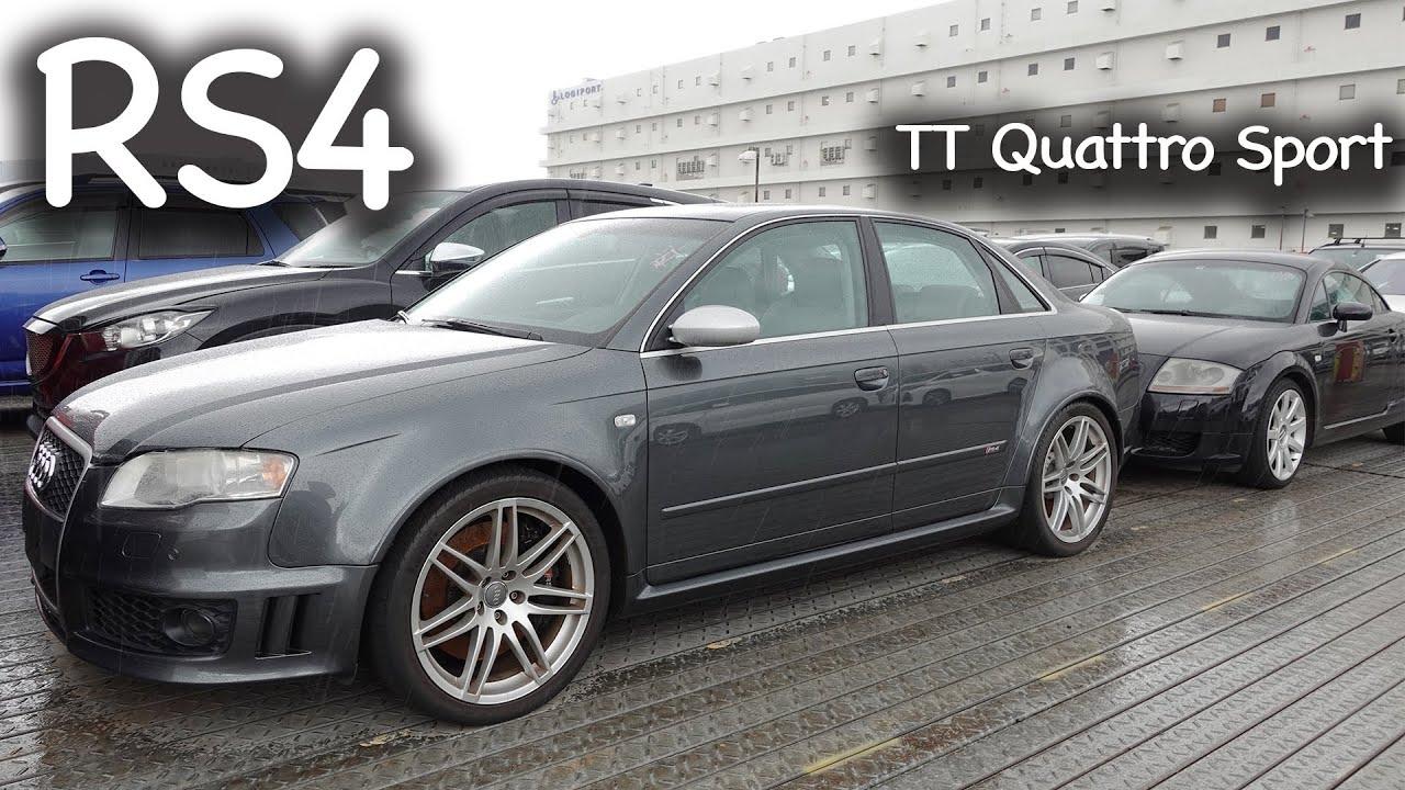 Audi RS4, TT Quattro Sport, CL550, CLS350 | Müşterilerimizin Araçları | Japonic Trade
