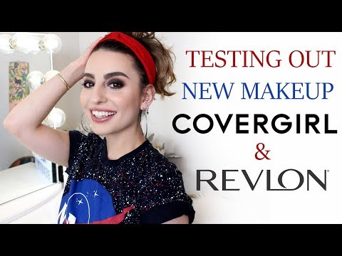 Testing Out New Revlon & Covergirl Makeup!