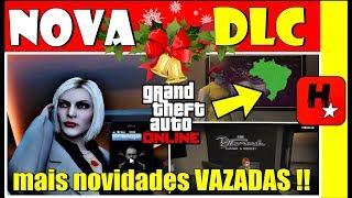 🎄MAIS NOVIDADES VAZADAS DA NOVA DLC🎄Família Brasileira?! Carro Forte! Novos Golpes e Mais🎄GTA Online