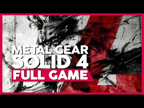 Metal Gear Solid 4 - Guns of the Patriots | Full Playthrough (PS3 | 1080p | No Commentary)