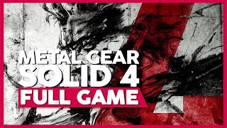 Metal Gear Solid 4 | Full Gameplay/Playthrough | PS3 | No Commentary