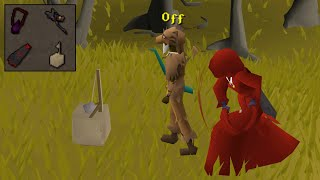 Pretending to Hunt Chinchompas in the Wilderness