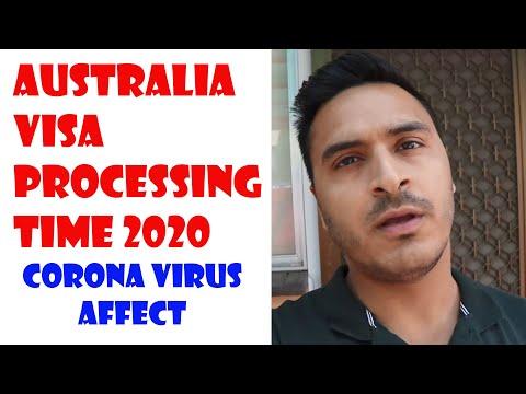 AUSTRALIA VISA PROCESSING TIME 2020 IN LONG QUEUE