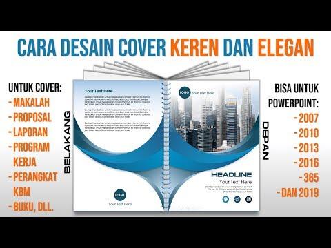 Contoh Cara Membuat Cover Keren dengan PowerPoint