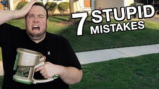DON'T make these 7 STЏPID Mistakes when OVERSEEDING your LAWN