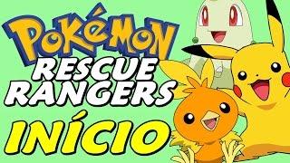 Pokémon Ruby Destiny: Rescue Rangers - O Início (Gameplay em Português)