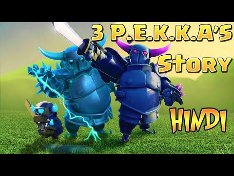 3 PEKKA STORY In Hindi | 3 Pekka की कहानी Hindi |Clash Of Clans Story Episode-3
