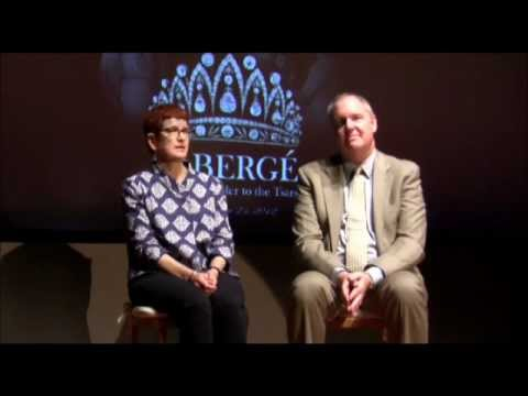 Tim Adams and Dr. Lynn Mally interview about 2012 Fabergé exhibition