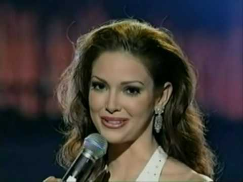 miss universe 2001 crowning moment youtube