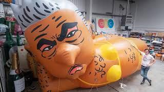 London mayor Sadiq Khan responds to protesters' plans to fly bikini balloon of him over capital