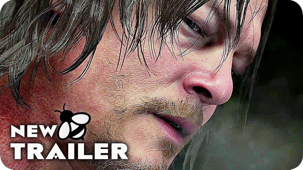 Death Stranding Game Trailer (E3 2018) Norman Reedus, Mads Mikkelsen Game