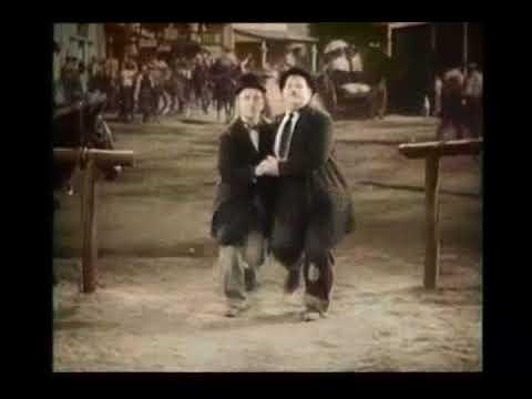 Laurel & Hardy - It's Coming Home (Three Lions - Baddiel, Skinner, The Lightning Seeds)